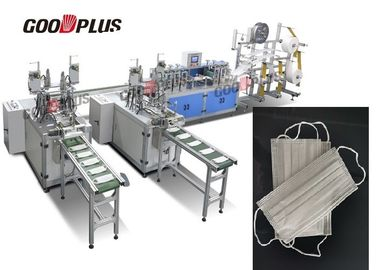 الصين 2019 Fully Automatic Non Woven Mask Making Machine With Oversea After Sales Service المزود